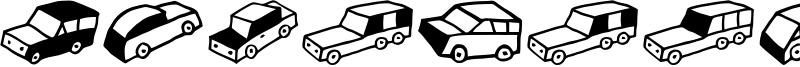Automobiles Font