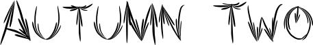 Autumn Two Font