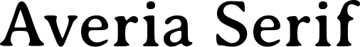 Averia Serif Font