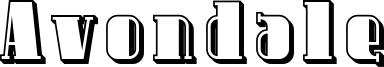 Avondale Font