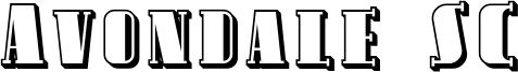 Avondale SC Font