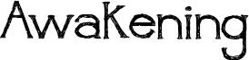 Awakening Font