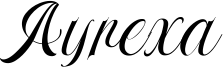 Ayrexa Font