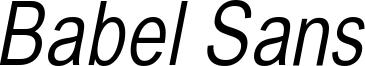 BabelSans-Oblique.ttf