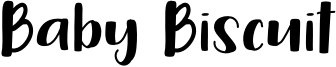 Baby Biscuit Font