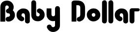 Baby Dollar Font