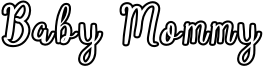 Baby Mommy Font