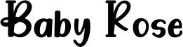 Baby Rose Font
