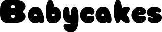 Babycakes Font