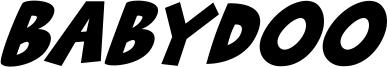 Babydoo Font
