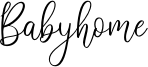 Babyhome Font