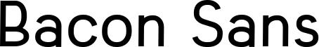 Bacon Sans Font