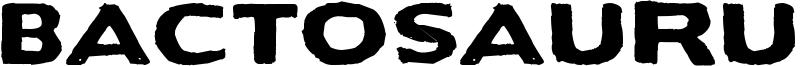 Bactosaurus Font