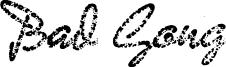 Bad Gong Font