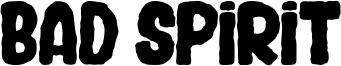 Bad Spirit Font