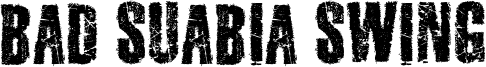 Bad Suabia Swing Font