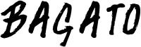 Bagato Font