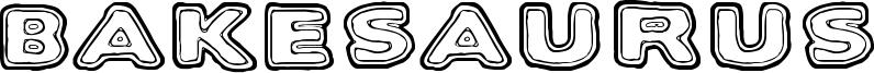 Bakesaurus Font