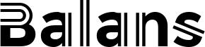 Balans Font