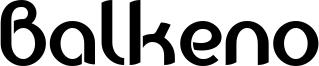 Balkeno Font
