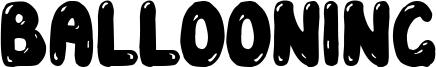 Ballooning Font