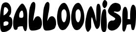 Balloonish Font