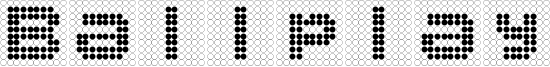 Ballplay Font