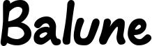 Balune Font