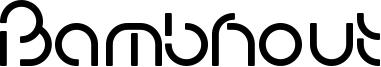 Bambhout Font