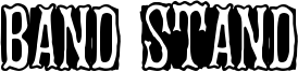 Band Stand Font