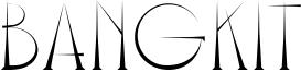 Bangkit Font