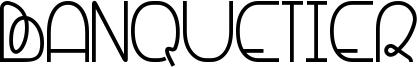 Banquetier Font