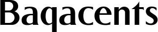 Baqacents Font