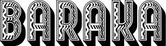 Baraka Font