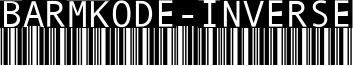 BarMKode-Inverse Font