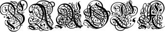 Barock Font