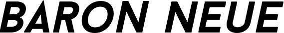 Baron Neue Bold Italic.otf