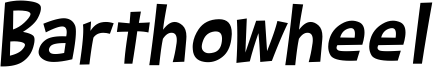 Barthowheel Italic.ttf