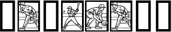 Baseball Font