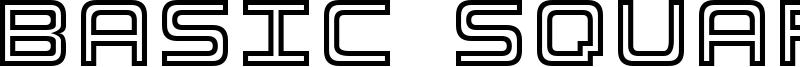 Basic Square 7 Font