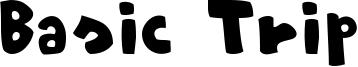 Basic Trip Font
