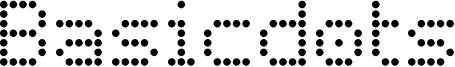 Basicdots Font