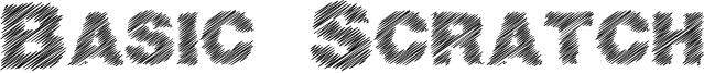 Basic Scratch Font