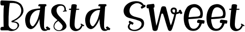Basta Sweet Font