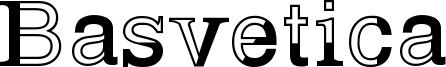Basvetica Font