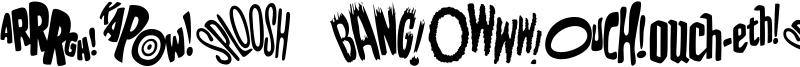 Bat Fight Font