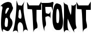 BatFont Font