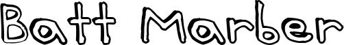 Batt Marber Font
