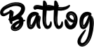Battog Font