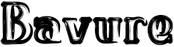 Bavure Font